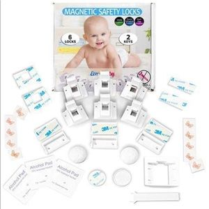 Eco-Baby Cabinet Locks for Babies - 6 Childproof